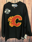 CCM Calgary Flames Jersey Vintage NHL Center Ice Practice Rare Sz L New W Tags