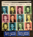 N'SYNC Celebrity Tour Book Program With 3 Opening Act Tony Lucca Autographs