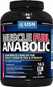 USN Muscle Fuel Anabolic All-In-One Masa Muscular Proteína Ganador 2kg Chocolate
