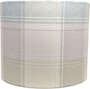 Pink Grey Tartan Country Check Lampshade Ceiling Light Shade Table Lamp Drum
