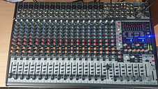 Behringer Eurodesk SX2442FX Mixing Desk Studio/Live Band Dual FX fully working