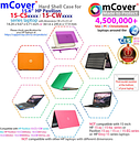 "NEW mCover® Hard Shell Case for 2018 15.6"" HP Pavilion 15-CSxxxx series laptop"