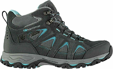 Karrimor mount mid ladies walking hiking boots uk 7 grey/blue new rrp £74.99