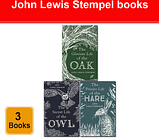 John Lewis-Stempel 3 Books Collection Set Glorious Life of the Oak, Secret Life