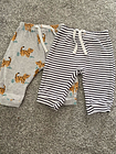 Baby Clothes 0-3 Months John Lewis 2 Pairs Of Trousers