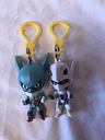 My Hero Academia Backpack Clips Keychains Lot Of 2 Figures