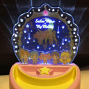 Sailor Moon My Melody Collaboration Glow Accessories Tray Sanrio Anime Manga F/S