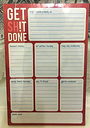 A5 get sh*t done novelty note pad annual daily weekly planner notepad journal