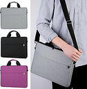 Portable Laptop Sleeve Shoulder Bag Carrying Case For HP Dell Lenovo 15.6 inch