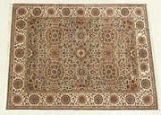 Hand Knotted Floral Carpet 100% Wool Area Carpets 9' X 12' Hand Woven Rug NEW