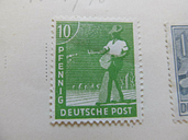 A8P60F104 Besetzung Germany Allied Occupation 1947-48 10pf fine mh* stamp