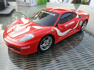 Remote Control Car Red Ferrari By New Bright