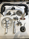 Campagnolo Record 10 Speed Double Full Groupset with Handlebars