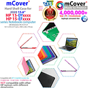 "NEW mCover® Hard Shell Case for 2020 15.6"" HP 15-DYxxxx Notebook Computer"