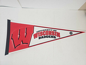 University of Wisconsin Badgers Pennant By Rico Industries Express