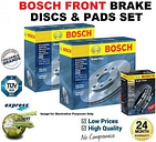 BOSCH FRONT BRAKE DISCS & PADS SET for OPEL ASTRA H Estate 1.8 2005-2010