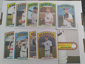 2021 Topps Heritage Box Topper Lot Acuna Judge  ++++
