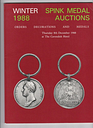 SPINK Auction Catalogue orders, decorations, medals Military Winter 1988 AS236A