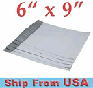 6x9-Poly Polly Mailers Shipping Envelopes Self-Sealing Plastic Mailing Bags USA