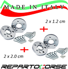 REPARTOCORSE WHEEL SPACERS KIT 2 x 12mm + 2 x 20mm WITH BOLTS - BMW 3 SERIES E46