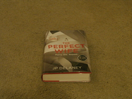 J p delaney: the perfect wife: signed uk first edition hardcover 1/1