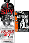 Tom Marcus I Spy My, Soldier & Capture 3 Books Collection Set Paperback NEW