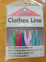 Household Essentials 04200 Clothesline - 8 ft. - with clips