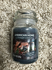 AMERICAN HOME BY YANKEE CANDLE WELCOMING WINTER JAR 19 OZ  Blue Christmas USA