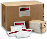 500 x A7 'Documents Enclosed' Invoice Address Wallets 113x110mm Self Adhesive