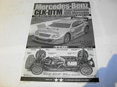 Tamiya 1/10 TT-01 Mercedes CLK-DTM Build Manual #58318