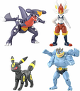[PRE] BANDAI SHODO Pokemon4 Completed 4 Figure Bundle