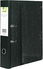 10 Black Q Connect Branded Lever Arch Files / Folders Foolscap 70mm Free 24h