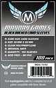 Mayday Boardgame Sleeves Euro Card Sleeves - Black Backed (100) New