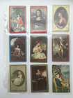 18 Vintage Art Portraits Theme Lot Single Swap Playing Trading Cards Collect