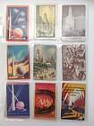18 Vintage NYC & Chicago Fair & City Lot Single Swap Playing Trading Cards
