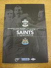 25/11/2012 Southampton v Newcastle United  . Condition: Listed previously in bra