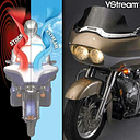 "National Cycle VStream 9"" Dk Tint Windscreen Harley Davidson FLTR Road Glide 06"