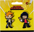 My Hero Academia Chargebolt & Earphone Jack Pins Set of 2 Official Licensed