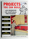 1956 DIY Weldwood Pkywood Projects Furniture Kitchen Cabinets Home Improvement
