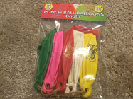 Punch Ball Balloons - Bright 5 pack *new*