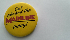 Get aboard the mainline today picture badge