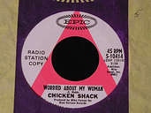 Chicken Shack-Worried About My Woman-1968 US PROMO 45-CLEAN!