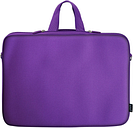 """15.6"""" Neoprene Laptop Computer Sleeve bag For Dell Hp Acer  - Purple  Color"""