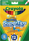 NEW! Crayola Bright Supertips Pack of 72 3.7509