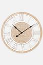 Round Wooden Wall Clock