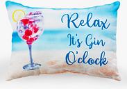 Relax Its Gin O Clock Bath Pillow