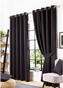 Woven Blackout Eyelet Curtains