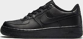 Nike Air Force 1 Low Junior - Black/Black - Kids, Black/Black
