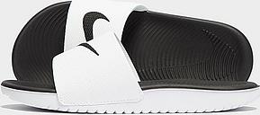 Nike Kawa Slides Children - White/Black - Kids, White/Black