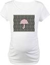 Pink Jeans Princess Umbrella Nautical Maternity T-